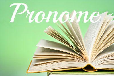 Estudo dos Pronomes