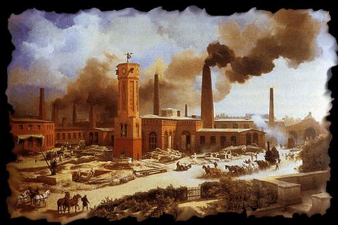 A Revolução Industrial trouxe também muita poluição