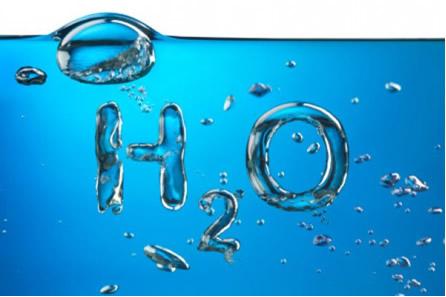A água é uma substância pura, composta por dois elementos