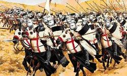 Os expedidores das Cruzadas - A cruz era seu símbolo