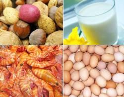alimentos causadores de alergia