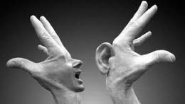 linguagem surdos e mudos