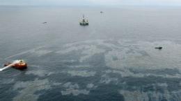 mancha de petroleo