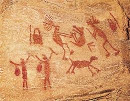 pintura na caverna