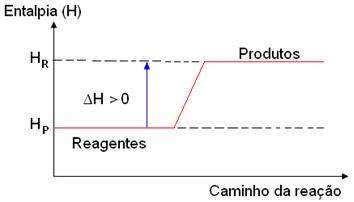 Reações endotérmicas e exotérmicas